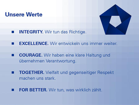 Unsere Werte
